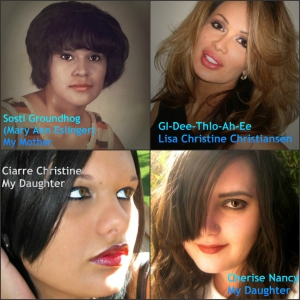 Mary Ann, Lisa Christiansen, Ciarre Christine, Cherise Nancy