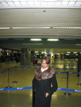 Lisa ChristiansenITALY DEPARTURE 092