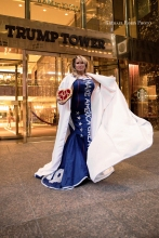 Lisa Christiansen - Andre SorianoMAGA GOWN 14